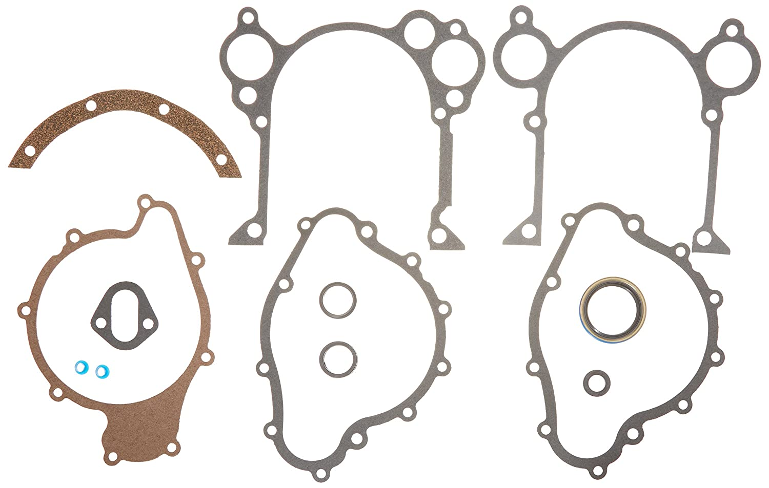 MAHLE Original JV877 Engine Timing Cover Gasket Set