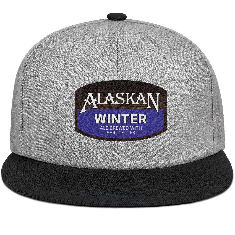 Alaskan Winter Ale Mens Womens Wool Vintage Cap Adjustable Snapback Sports Hat