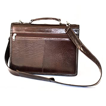 6a9df85b5d Amazon.com  Compact leather case bag by Yeti Leather (Cognac)