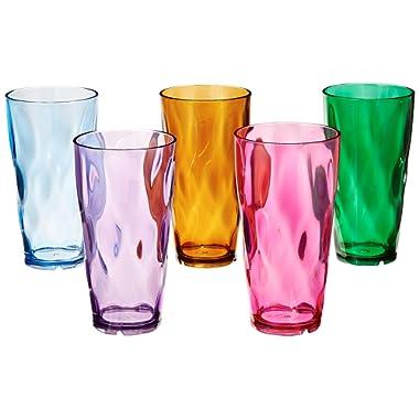 Creative Ware 24-Ounce Plastic Tumblers, Set of 10