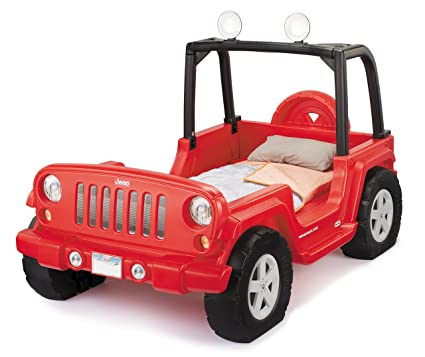 Amazon Com Little Tikes Jeep Wrangler Toddler To Twin Bed Toys Games