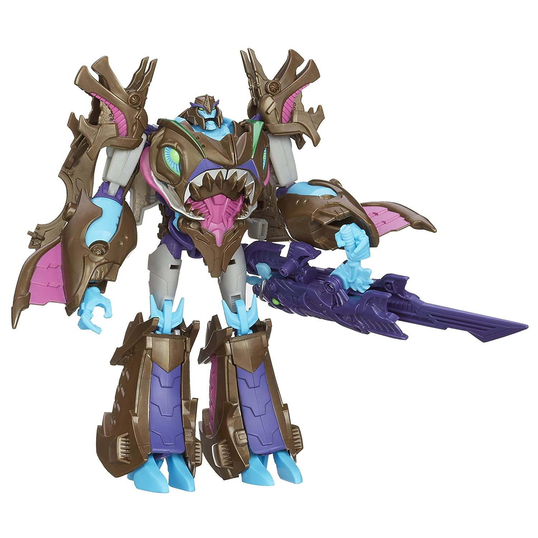 Transformers - Figura de Megatron, diseño de los Principales Cazadores de la Bestia