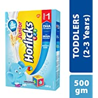 Horlicks Stage 1 (2-3 years) Health & Nutrition drink - 500 g Refill pack (Original flavor)