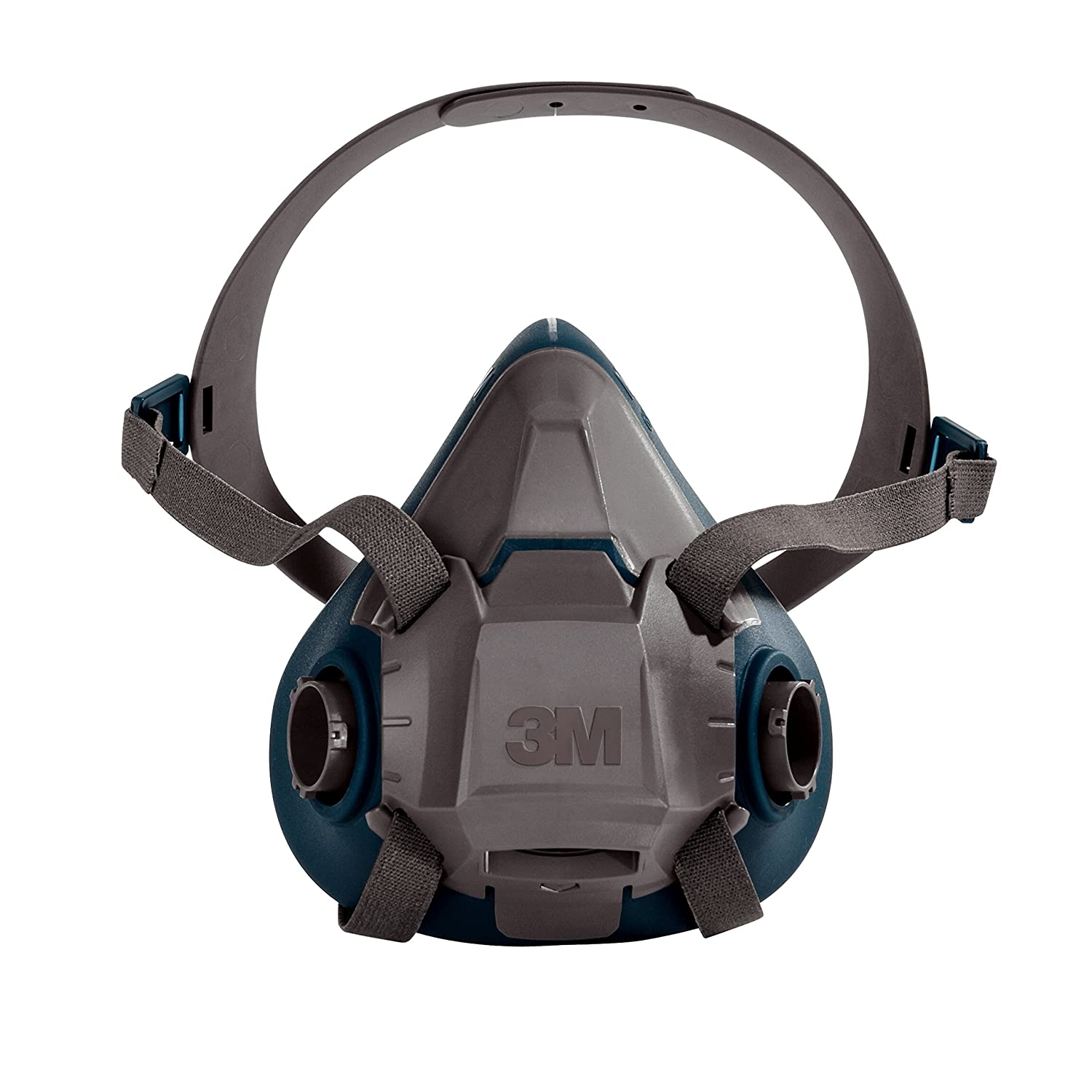 3M Rugged Comfort Half Facepiece Reusable Respirator 6503/49491, Large