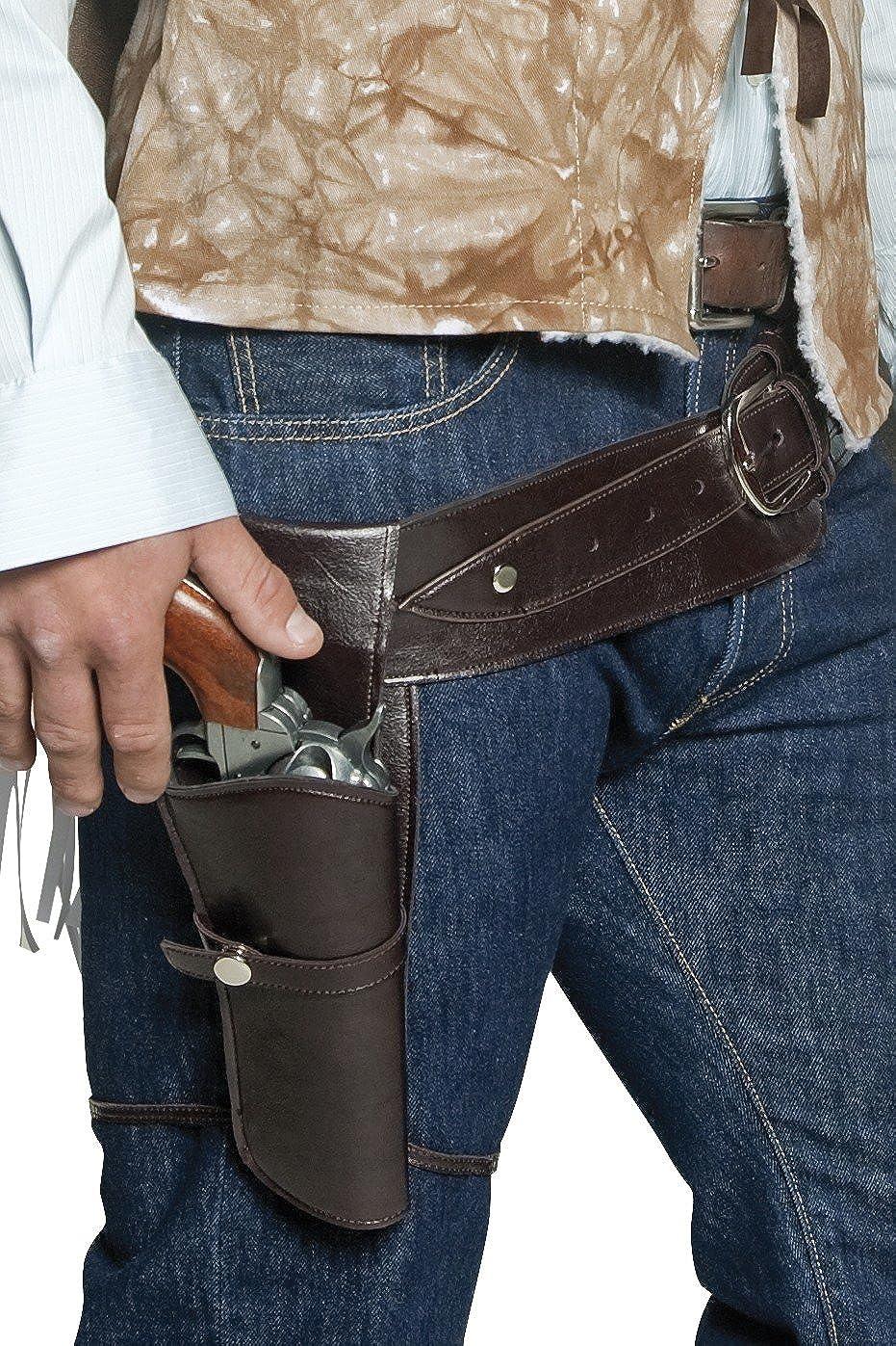 Smiffys Wild West Cowboy Water Pistol Toy Gun //w Belt /& Holster Accessory Set