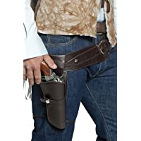 Smiffys Ceinture holster simple bandit, vendu vide authentique western 112 cm