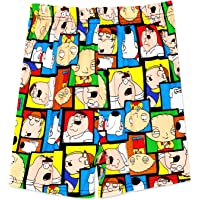 Family Guy Stewie Satisfy Mens Boxer Shorts Teen/Adult Black