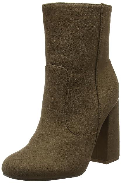 d1bba5fe3301 Boohoo Women s Chunky Heel Ankle Boots