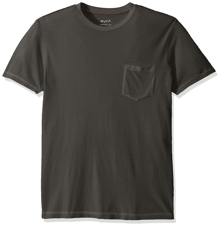 RVCA Mens PTC 2 Pigment Short Sleeve Crew Neck Pocket T-Shirt