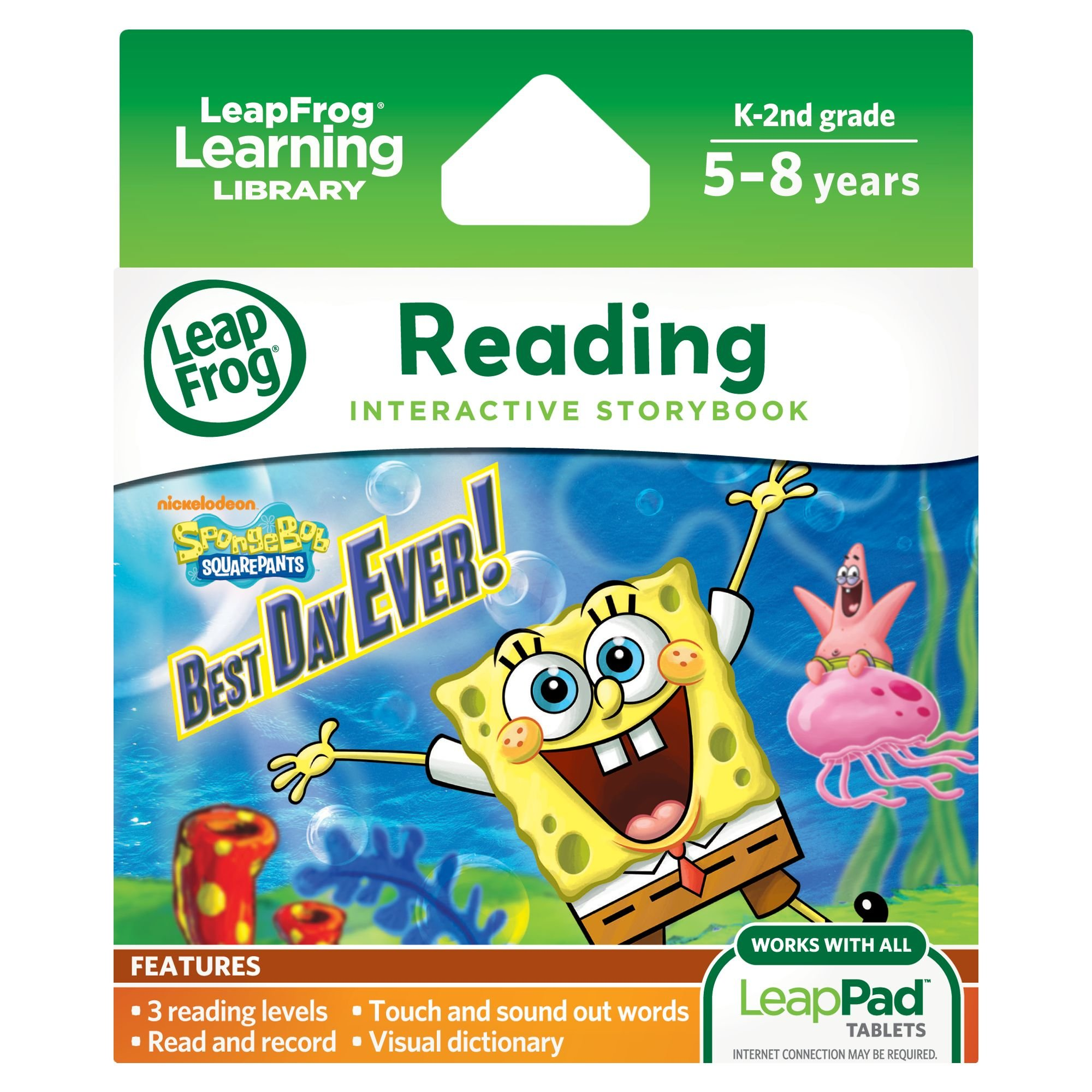 LeapFrog LeapPad Ultra eBook: SpongeBob SquarePants Best Day Ever! (works with all LeapPad tablets) by LeapFrog
