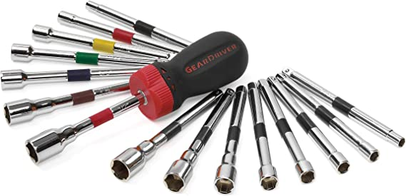 Gearwrench KDT-82779 56 Piece Ratcheting Geardriver Screwdriver Set