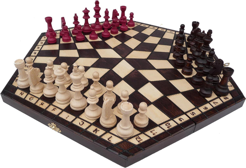 Chessebook - Ajedrez, para 3 jugadores: Amazon.es: Juguetes y juegos