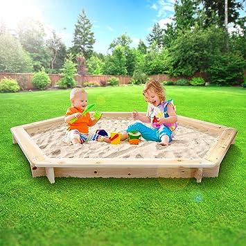 Infantastic - Arenero para niños - diámetro 180 cm: Amazon.es: Juguetes y juegos