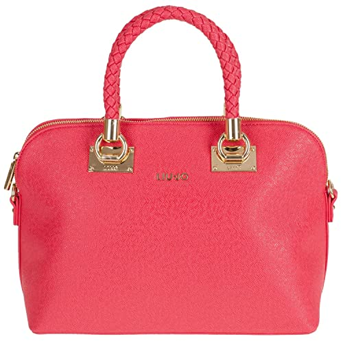 Liu Jo Shopping M Anna N65082 Damen Henkeltasche 33x24x16cm true red  N65082E0087-91664 abafae46c82