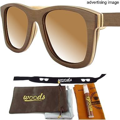08a543fe454 Amazon.com  Handmade Genuine Wood Bamboo Polarized Sunglasses   Men ...