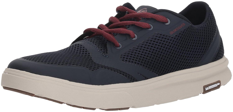 (9 D(M) US, Blue/Red/Grey) - Quiksilver Men's Amphibian Plus Athletic Water Shoe, Grey/White/Green, D(M) US   B0787HNCRK
