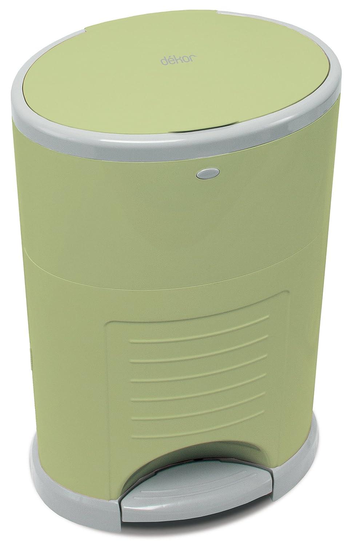 Amazon.com : diaper dekor plus pail   sage : diaper pails : baby