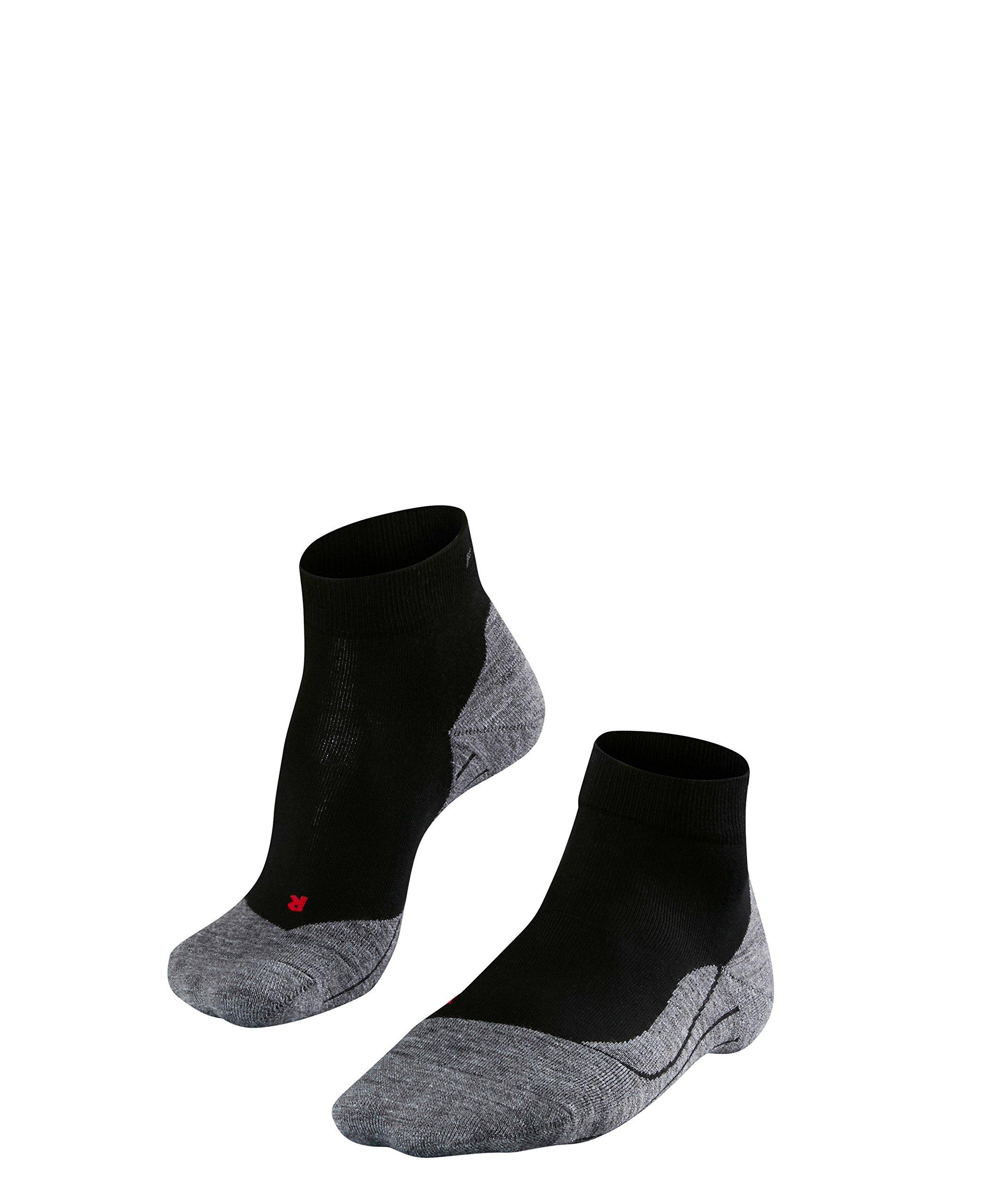 Falke ESS Men Running Ru4 Short Socks Size 44 - 45 Black/Mix