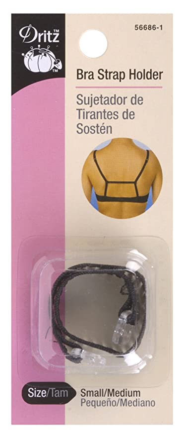 Dritz Bra Strap Holder - Black