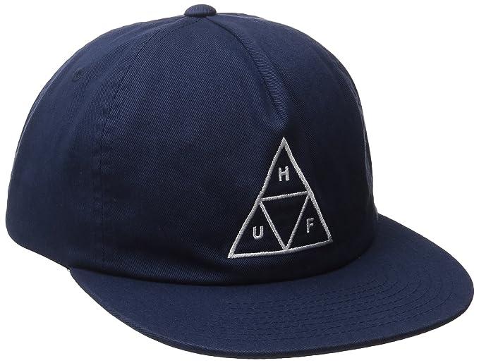 HUF CAP TRIPLE TRIANGLE SNAPBACK NAVY  Amazon.it  Abbigliamento dac0d1d41e13
