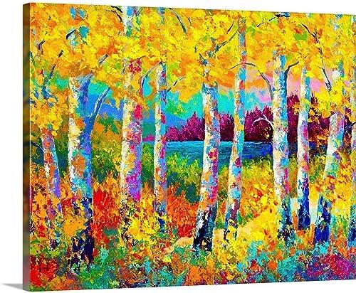 Autumn Jewels Canvas Wall Art Print