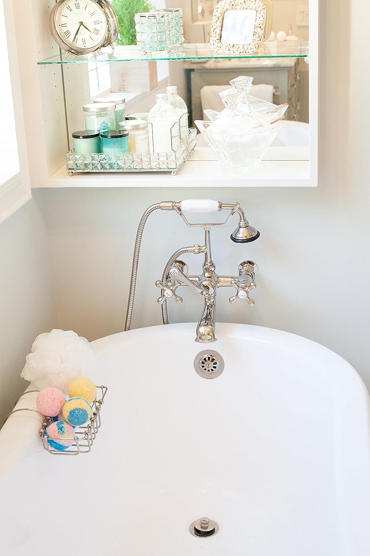 Amazon.com : Spa Kit Relaxation Gift Set Two Bath Bombs, Bath Salt ...