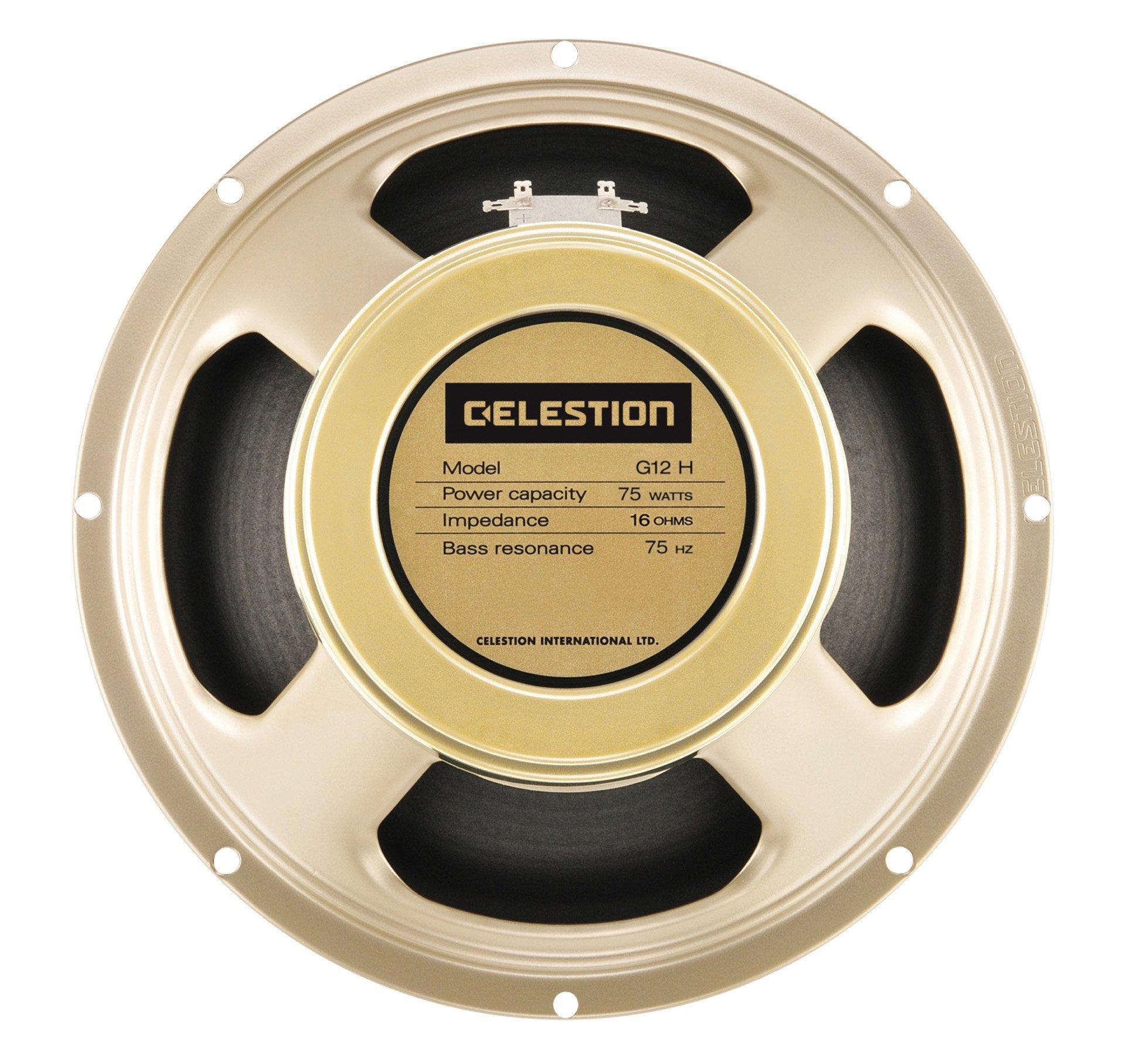 CELESTION G12H-75 Creamback, 12-Inch 75W 16ohm guitar speaker by CELESTION