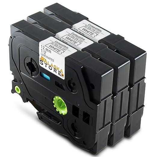27 opinioni per Alaskaprint 3x Tape cassette compatibile per TZe-231 Stampanti per etichette