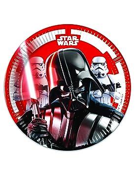 COOLMP - Juego de 3 Platos pequeños de cartón Star Wars ...