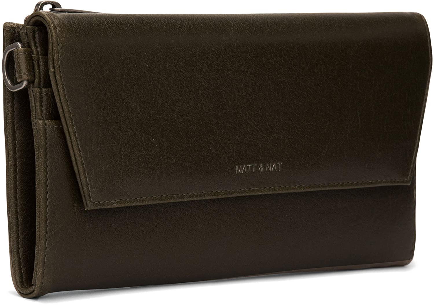ebf3298c19f5 Matt and Nat Mercer Vintage Wallet, Kale at Amazon Women's Clothing store: