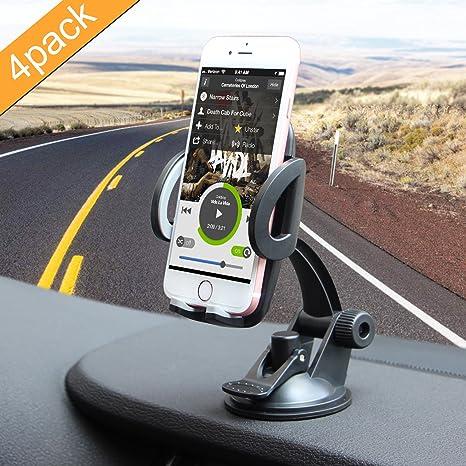 Soporte de coche, ilikable parabrisas del coche soporte para teléfono Soporte con 360 Degree rotación