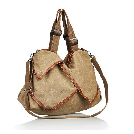 142 opinioni per TECOOL® Retrò Tela Borsa a tracolla da donna Vintage borsetta Borse a mano
