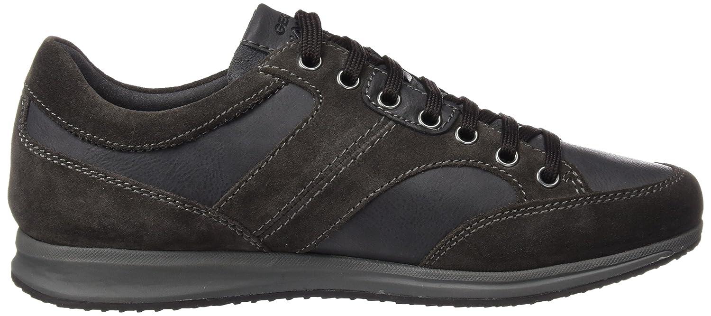 Geox U Snapish B, Sneakers Basses Homme, Noir (Black), 39 EU