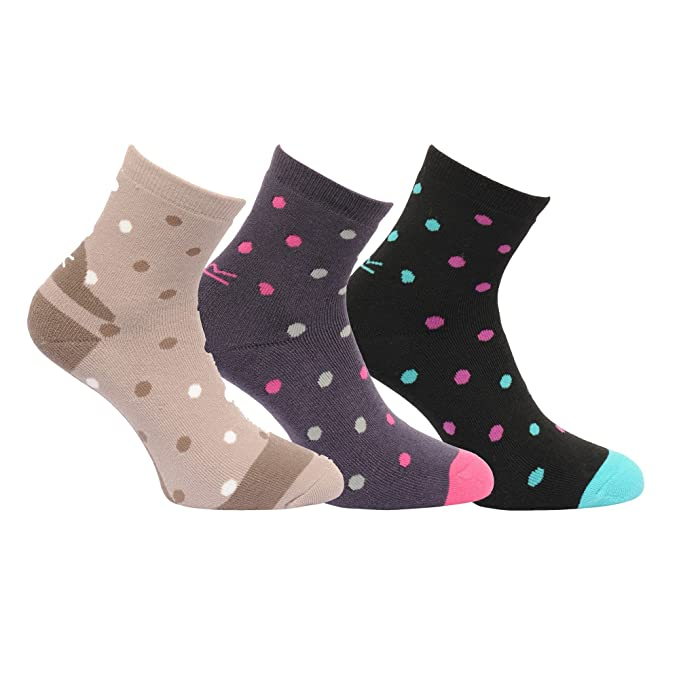 LADIES HIGH QUALITY BREATHABLE COTTON ANATOMICAL SPORT SOCKS 3//8UK