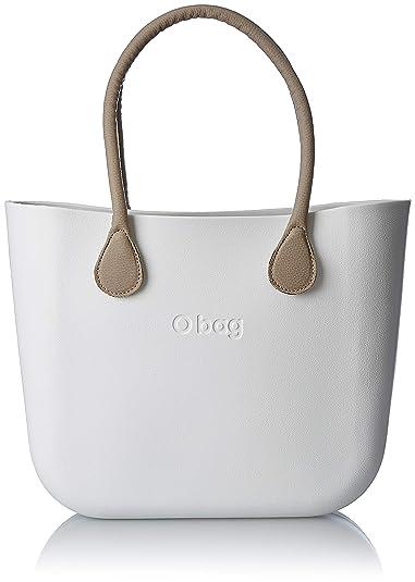 a28ec21e1e OBAG B001_008, sac à main femme - Blanc - Bianco, 14x31x39 cm (W x H ...