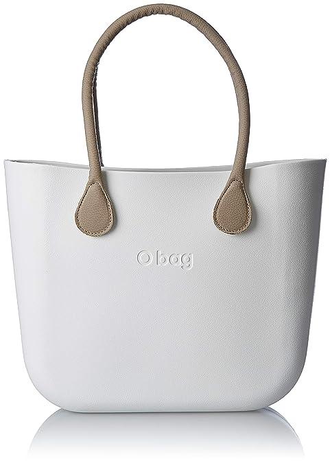 OBAG Mujer Bolso de mano Blanco Size: 14x31x39 cm (W x H x L