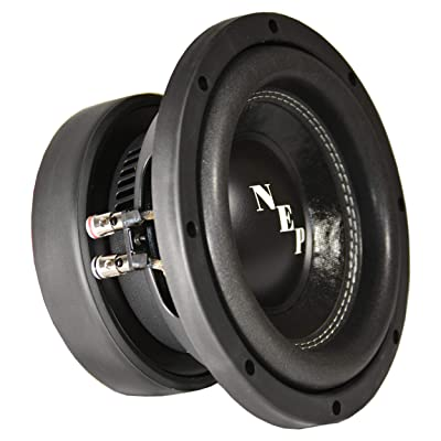 "8"" Dual 4 Ohm NEP Light Subwoofer: 350W RMS - 700W MAX"