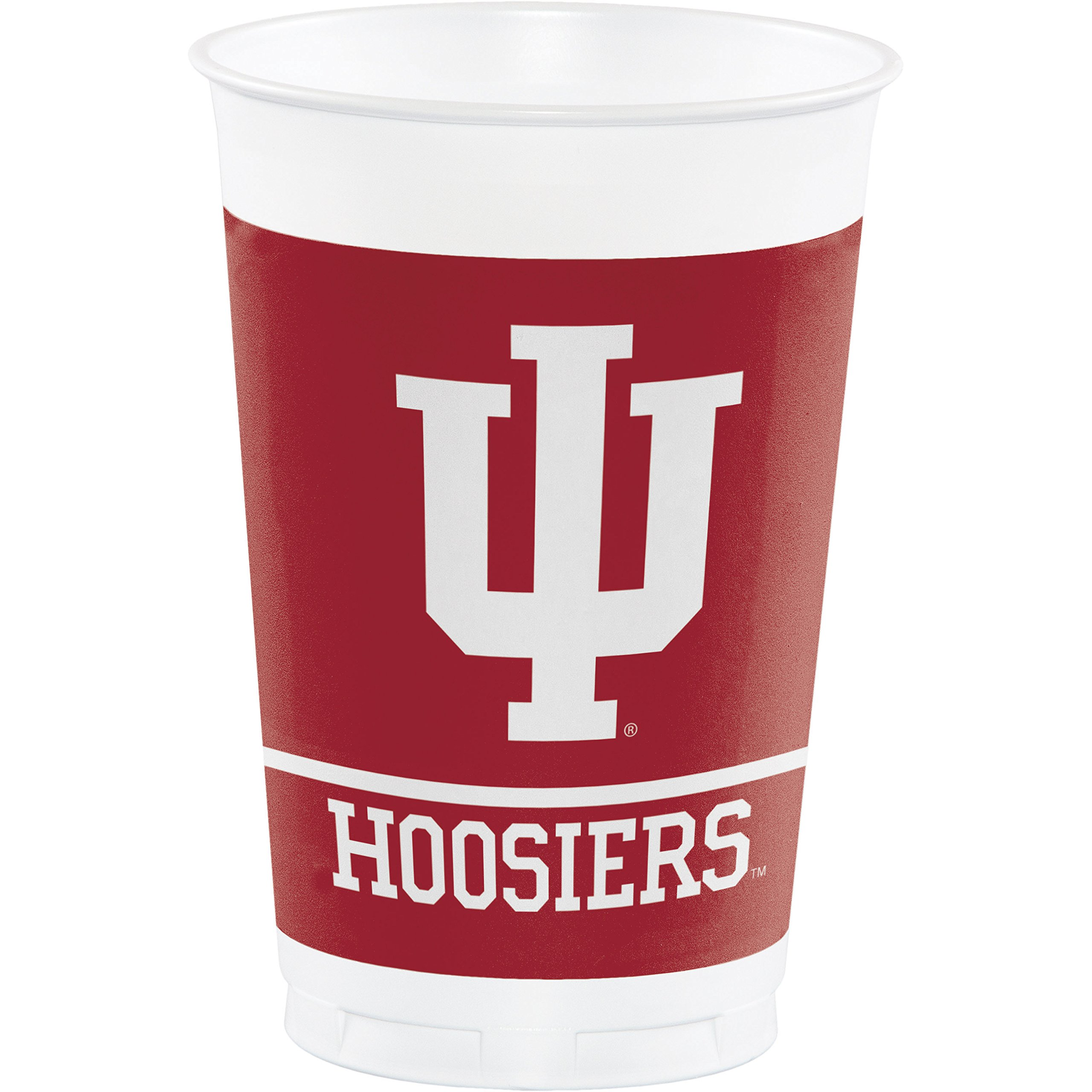 Indiana University Plastic Cups, 24 ct by Creative Converting