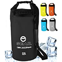 Enthusiast Gear Insulated Dry Bag Cooler | Waterproof Cooler for Kayaking, Hiking, Lunch, Fishing, and Beach - Leak…