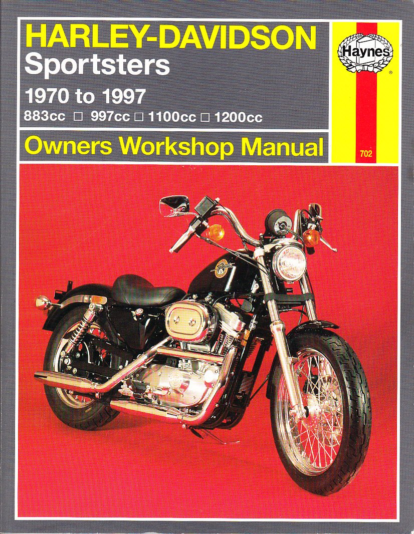 Harley Davidson Sportsters 1970 97 Owners Workshop Manual Haynes Sportster Manuals Curt Choate Tom Schauwecker J H 9781563923043