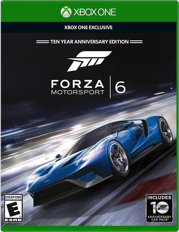 Amazon com: Forza Motorsport 6 - Xbox One: Microsoft