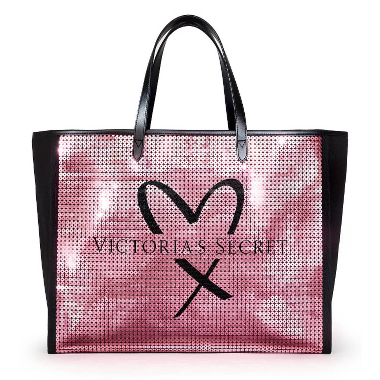 How To Make A Book Cover Out Of A Victoria S Secret Bag ~ Amazon.com: victorias secret pink showstopper sequin bling tote bag