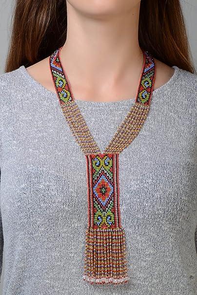 Madewell Multicolores Perles Collier Tour de cou plaqué or Laiton teint PERLES-Neuf avec étiquettes