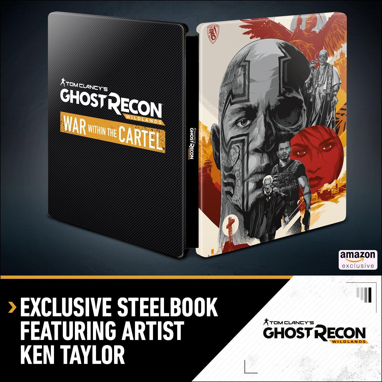 Amazon.com: Tom Clancys Ghost Recon Wildlands Gold Edition ...