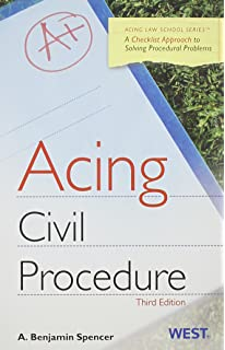 Acing Civil Procedure: A Checklist Approach to Solving