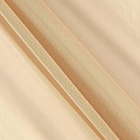 4 metre khaki animal scuba crepe stretch fabric crafts clothing