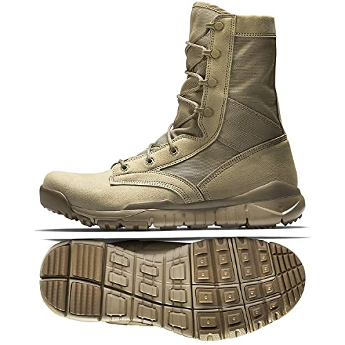 competitive price 222a3 5acc8 Nike Men s SFB Special Field Boots 329798-221 Khaki Desert Men s Tactical  Military Size