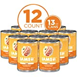 IAMS PROACTIVE HEALTH Puppy & Senior Wet Dog Food, 12 Count 13 oz. Cans