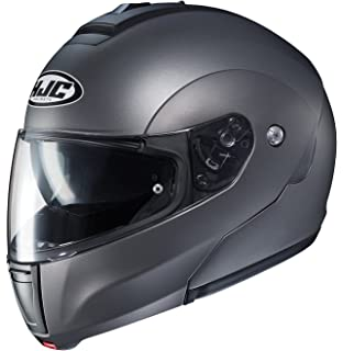 HJC Black CL-Max 3 Solid Modular Flip-Up Motorcycle Helmet DOT