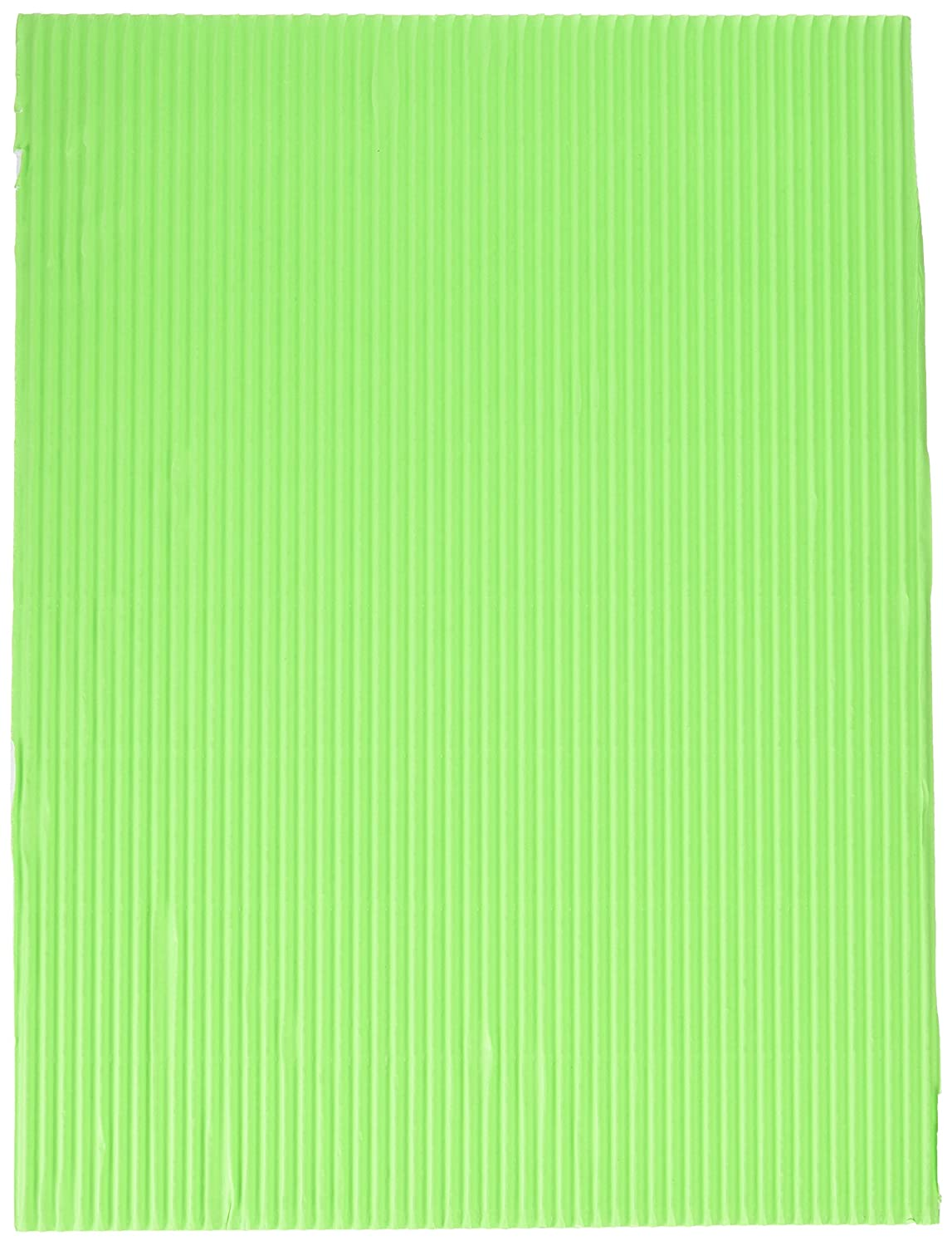 Corobuff Corrugated Paper Assorted Bright Color Pack of 12 School Specialty 006321 12 Sheets 12 X 16 in